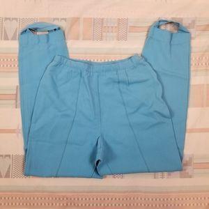 Vintage 50s 60s Blue Sitrrup Pants